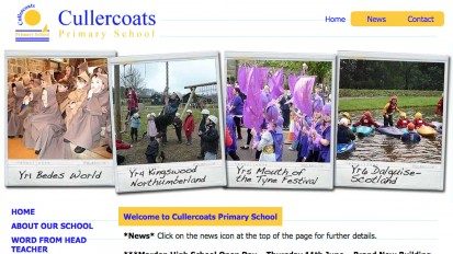 Cullercoats Primary School Website