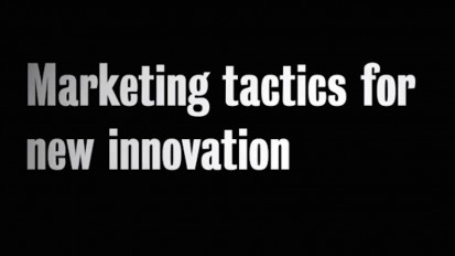 BIPC John McRae Marketing Tactics For New Innovation
